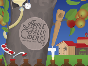The Apple Falls Cider Factory